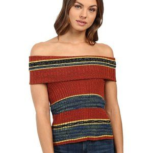FREE PEOPLE Carly Cowl Off the Shoulder Top